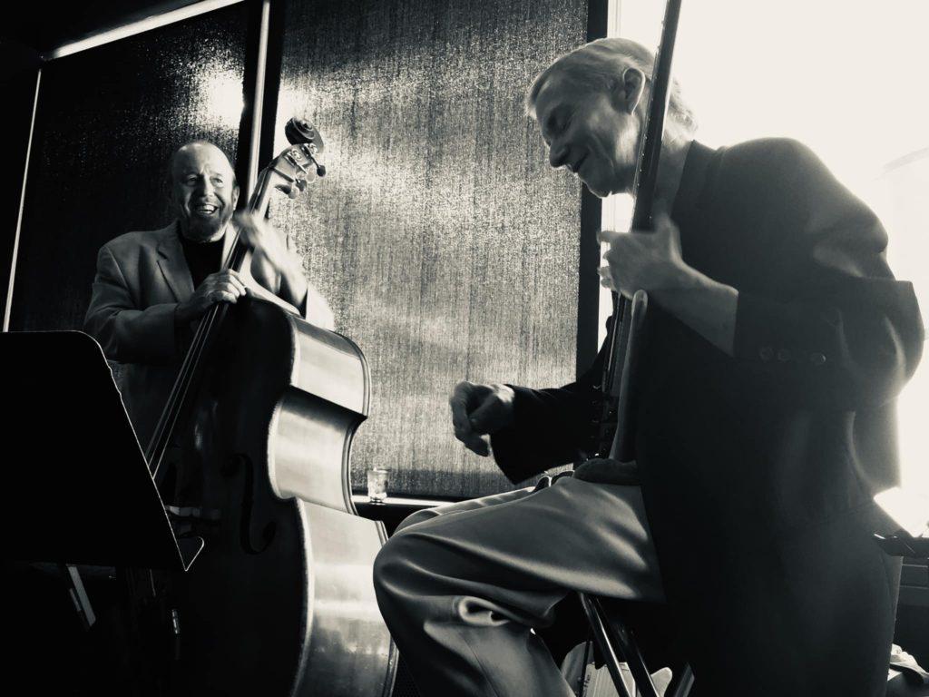 Bob Bowman with John Stowell